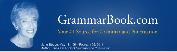 grammar and punctuation the blue book of grammar and punctuation